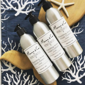 three haircare products