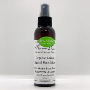 Organic Lemon Hand Sanitiser
